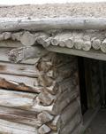 cunningham cabin roof detail: