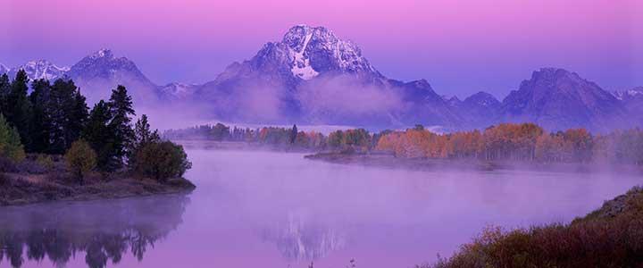 Fred Hanselmann photo Purple Oxbow Dawn: