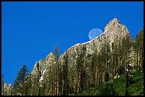 Moon and Grand Teton by Quang-Tuan Luong: