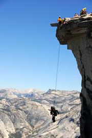 NPS photo Half Dome rescue: