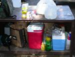 Tuolumne food storage locker: