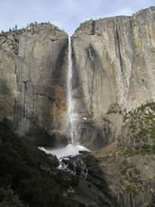 nps Yose Falls from Yose Falls trail Dec 12 2004: