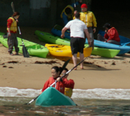 ocean kayak launch 2006 2: