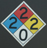 poolchemicalsignatDeAnzaCollege 47 pxls: pool chemical sign in four colors representing various hazards