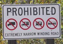sign moose wilson road: