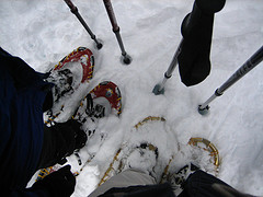 snowshoes copyright Monica Colmenares: