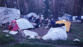 Sunrise campsite: