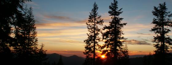sunset high sierra camp june 2007: