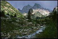 terragalleria tetons Cascade creek afternoon storm: