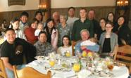 yosemite winter 2007 group at brunch:
