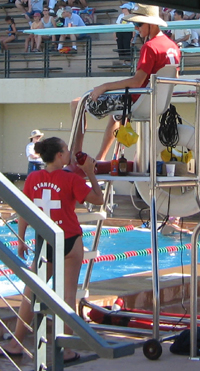 Ken Mignosa photo Saturday, 22 July, 2006 JSSL (Junipero Serra Swim League) Championships: