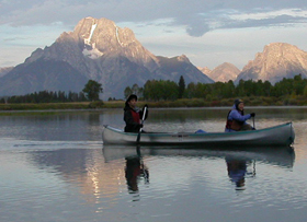 Oxbow Bend sunrise sept 2004: