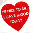 blood donation: