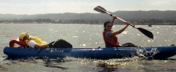ocean kayak Leonora and Tuan:
