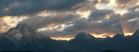 lunch tree hill sunset 2005 mt moran: