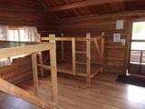 wooden bunks