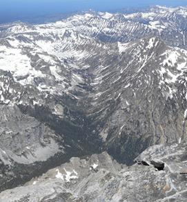 Cascade Canyon May 21, 2016 NPS photo