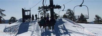ski lift and snow courtesy of NPS