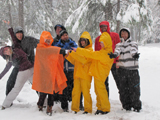 2011 winter group photo at campsite 120 pixels: group photo at snowy campsite