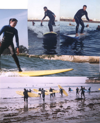 4 surfers: