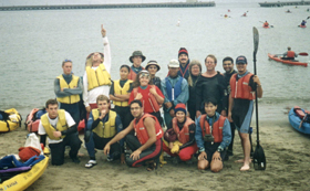 Alcatraz group photo 2002: