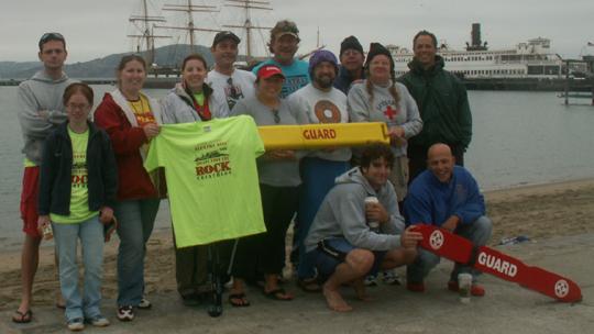 Alcatri October 06 lifeguards and friends 540 pxl: