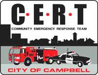 Campbell Police Department-Cert-Logo: