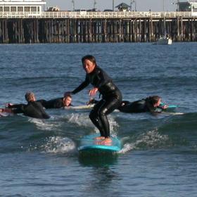 Cecilia Lee surf: