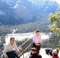 Columbia Point railing by Pavan Singh: