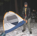 Deepakpitchingtentsnowcamp: