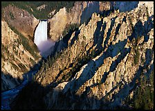 Falls of the Yellowstone River early morning by Quang-Tuan Luong:
