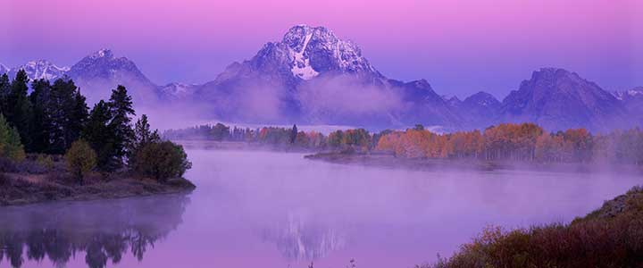Fred Hanselmann photo Purple Oxbow Dawn:
