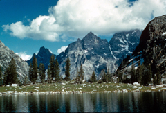 NPS photo Lake Solitude: