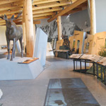 NPS photo interior teton visitor center:
