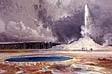 NPS photo of Moran's castle geyser:
