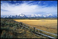 terragalleria tetons and fence: