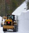 Tioga road snow plow NPS photo: