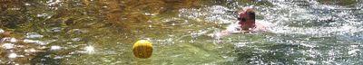 Tuolumne river water polo Alan Ahlstrand.: