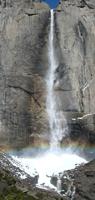 Upper Yosemite Fall Feb 5 2005: