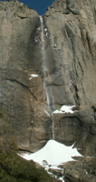 Upper Yosemite fall winter 2007: