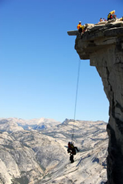 NPS photo Half Dome rescue: