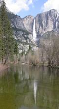Yosemite falls April 1 2004: