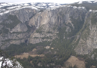 Yosemite Valley from Glacier Point, winter NPS photo: