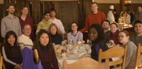 De Anza College group at Ahwahnee brunch 2006 photo by Kathy Spalding: