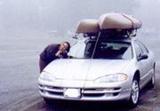 Wendy Sato uses a car as a tripod by Renae Aguilar: