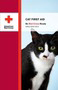 Red Cross cat first aid book cover: