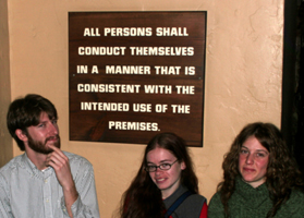 conduct themselves Michael Gregg photo: