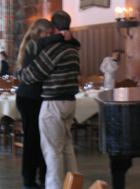 dancing at Ahwahnee brunch: