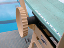 diving board fulcrum:
