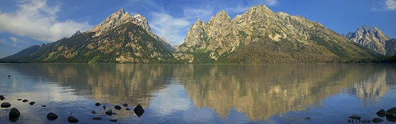 e j peiker photo Jenny Lake panorama: